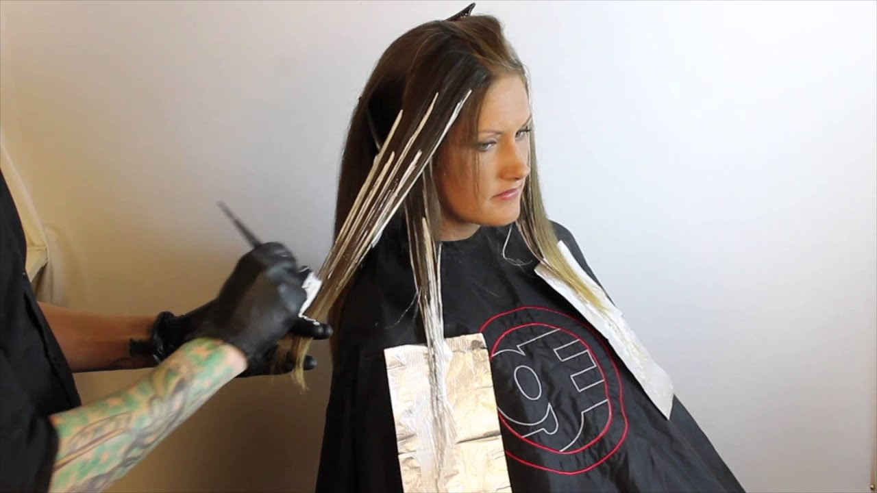 ombr how to balayage driven ombr technique featuring brian haire youtube. Black Bedroom Furniture Sets. Home Design Ideas