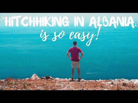 The most scenic drive in Albania. 〢 Hitchhiking Albania Episode 2 〢