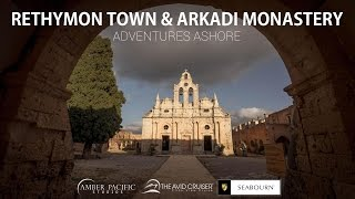 Video Adventures Ashore: Rethymnon Town and Arkadi Monastery download MP3, 3GP, MP4, WEBM, AVI, FLV Juli 2018
