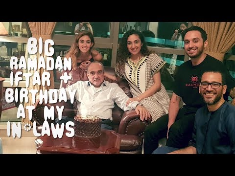 BIG Ramadan Iftar at My IN-LAWS | 2018