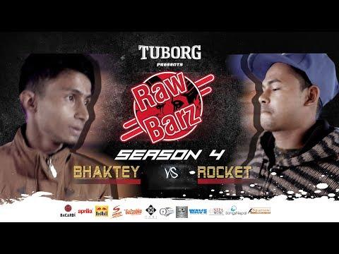Bhaktey Vs Rocket (Official Battle) | Tuborg Presents RawBarz Rap Battle S04E03 (Nepali)