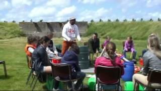 Workshop Trash Percussion in Fort bij Spijkerboor