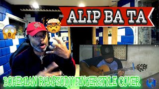 ALIP BA TA Queen Bohemian Rhapsody (Fingerstyle Cover) - Producer Reaction