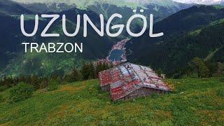 Trabzon Uzungöl'ün havadan görüntüleri.