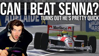 Can I Beat Senna's Adelaide Pole Lap?