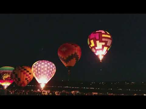 2017 Reno Air Balloon Races - Dawn Patrol