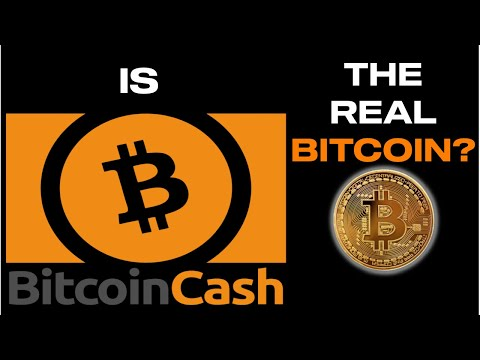 IS BITCOIN CASH THE REAL BITCOIN? What Is Bitcoin Cash? Why I Invest In Bitcoin Cash (BCH)