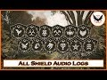 [Secrets] The Division: All Shield Audio Logs (W/ The Division 2 Gameplay)