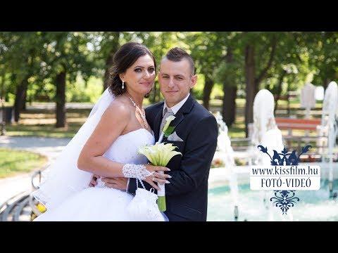 Csilla és Ádám esküvője Nyíregyházán a Sziklakert Étteremben