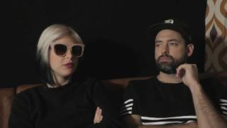Phantogram interview - Sarah & Josh (part 1)