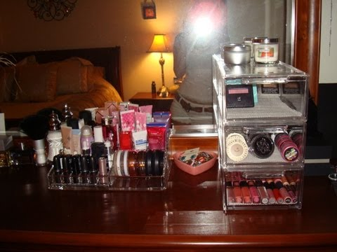 makeup-storage-ideas-&-makeup-collection!