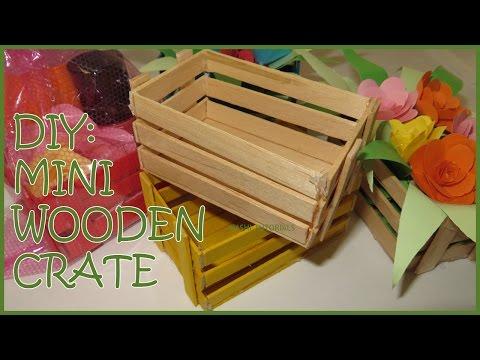 DIY: Mini Wooden Crate