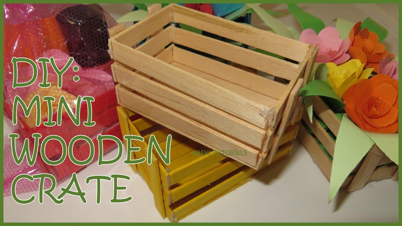 Diy Mini Wooden Crate