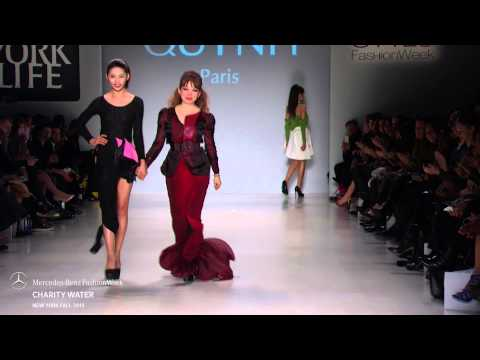 CHARITY WATER MERCEDES-BENZ FASHION WEEK FW 2015 COLLECTIONS