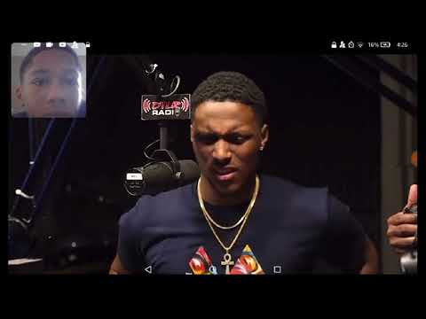 13 year old king quan spit bars in DTLR studio (MY REACTION)
