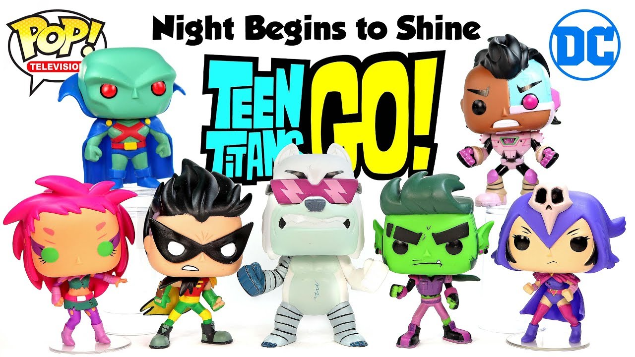 Vinyl Figure Robin The Night Begins To Shine POP Teen Titans Go