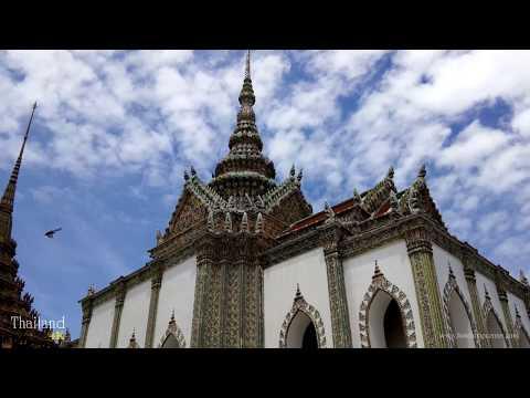 วัดพระแก้ว : Wat Phra Kaew in 4K (Ultra HD)
