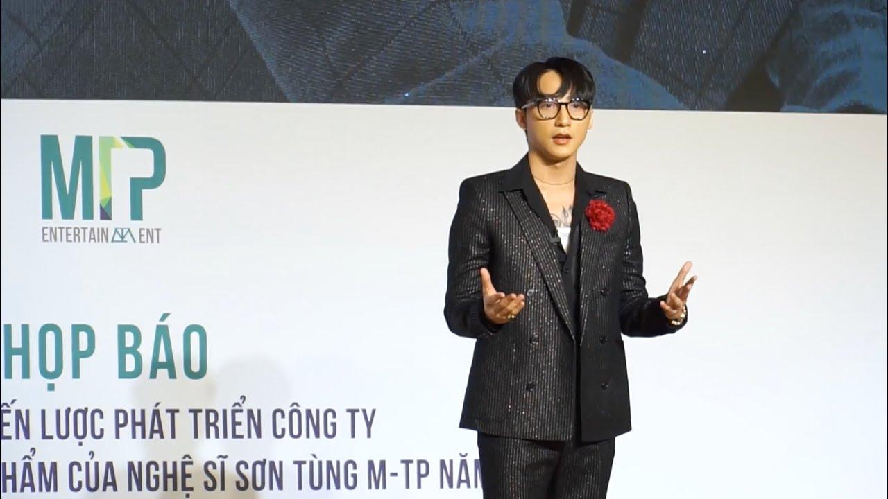 Sơn Tùng M-TP họp báo công bố kế hoạch tung sản phẩm và những dự án khủng trong năm 2020