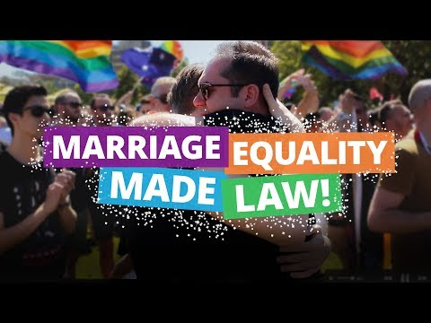 EQUALITY IS FINALLY LAW: Look at how far we've come!