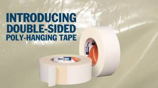 One Step - Saves Time - Holds Strong: Double-Sided Poly-Hanging Tape