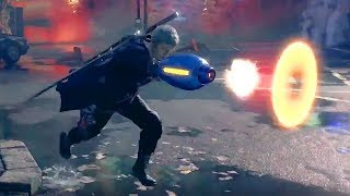 DEVIL MAY CRY 5 -  NEW Weapon Mega Buster Gameplay Trailer TGS 2018   (PS4, XBOX ONE, PC)