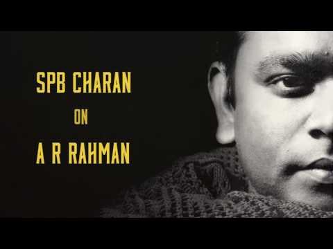 SPB Charan on A R Rahman