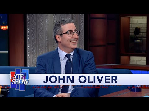 John Oliver's Quest For U.S. Citizenship Culminated In An