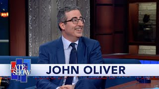 "John Oliver's Quest For U.S. Citizenship Culminated In An ""Utterly Petrifying"" Citizenship Test"