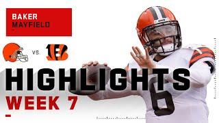 Baker Mayfield Comes Up CLUTCH on Huge 5-TD Day | NFL 2020 Highlights