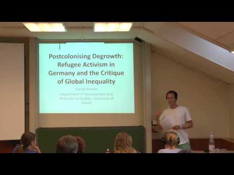 Postcolonising Degrowth: Refugee Activism in Germany and the Critique of Global Inequality