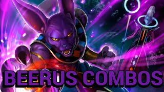 Dragon Ball FighterZ: Beerus Combo Video (Basic To Advanced)