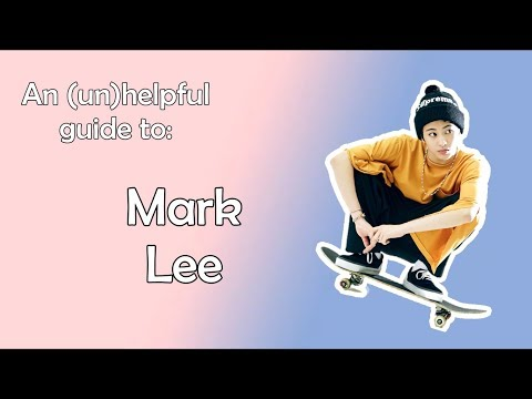 An (un)helpful guide to Mark Lee