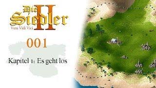 Die Siedler II - Veni Vidi Vici |001| Kapitel 1.1: Es geht los