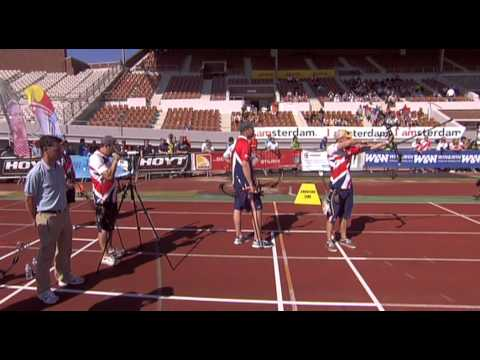 Team Match #4- Amsterdam - European Outdoor Target Championships 2012 -