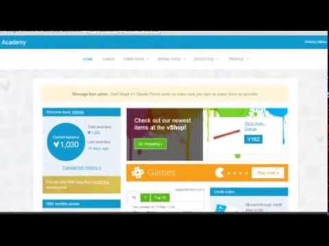 Vivo Miles Demo - The Worlds First Online Rewards System For Schools