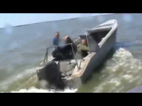 Браконьеры на лодках! Задержание! Неожиданная рыбалка!