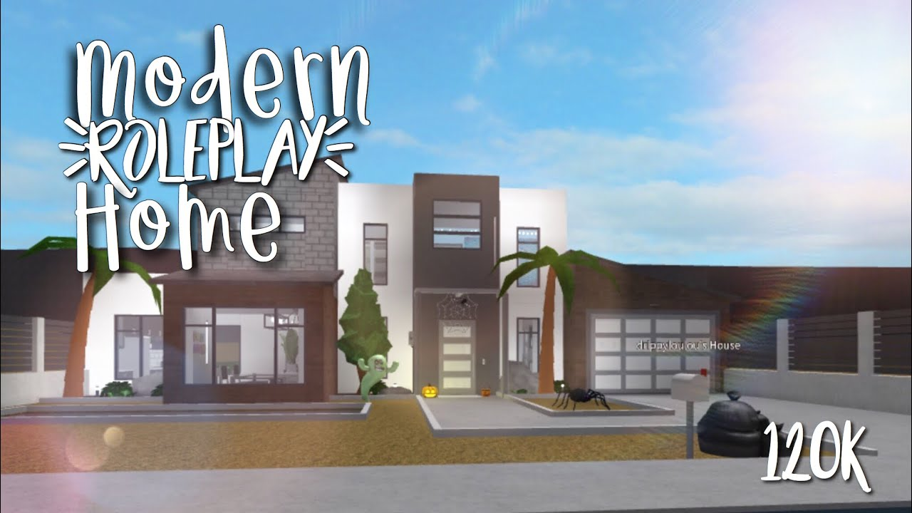 Modern Roleplay Home 120k Welcome To Bloxburg Mila Nilla