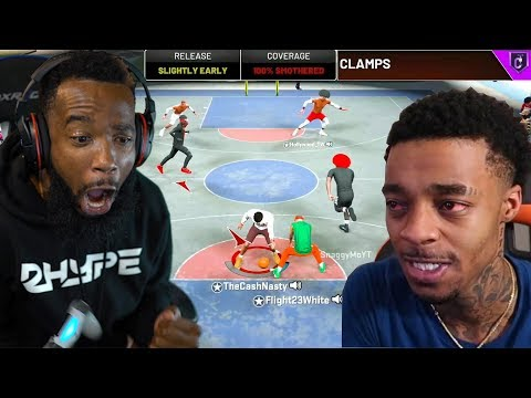 I PLAYED FLIGHT WITH MY MAXED BADGE LOCKDOWN AND THIS HAPPENED! NBA 2K20 PARK