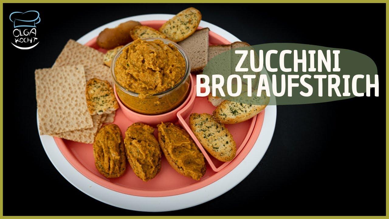 Lecker Brotaufstrich selber machen - Mit Zucchini und Möhren