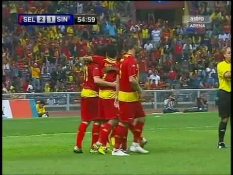 Bosko Balaban scores as Selangor beat Singapore 3-1 ( Sultans Cup 2012 ) football Travel Video