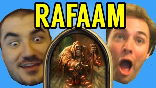 One of Disguised Toast's most viewed videos: [Hearthstone] STREAMERS REACT TO RAFAAM (ft. Kripparrian, Amaz, Day9, Kibler, Savjz, Forsen)