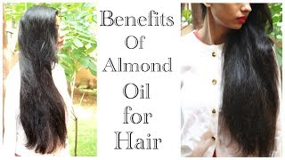 Benefits of Almond Hair Oil: Enrich hair with Protein with Dabur Almond Hair Oil |Miriam James
