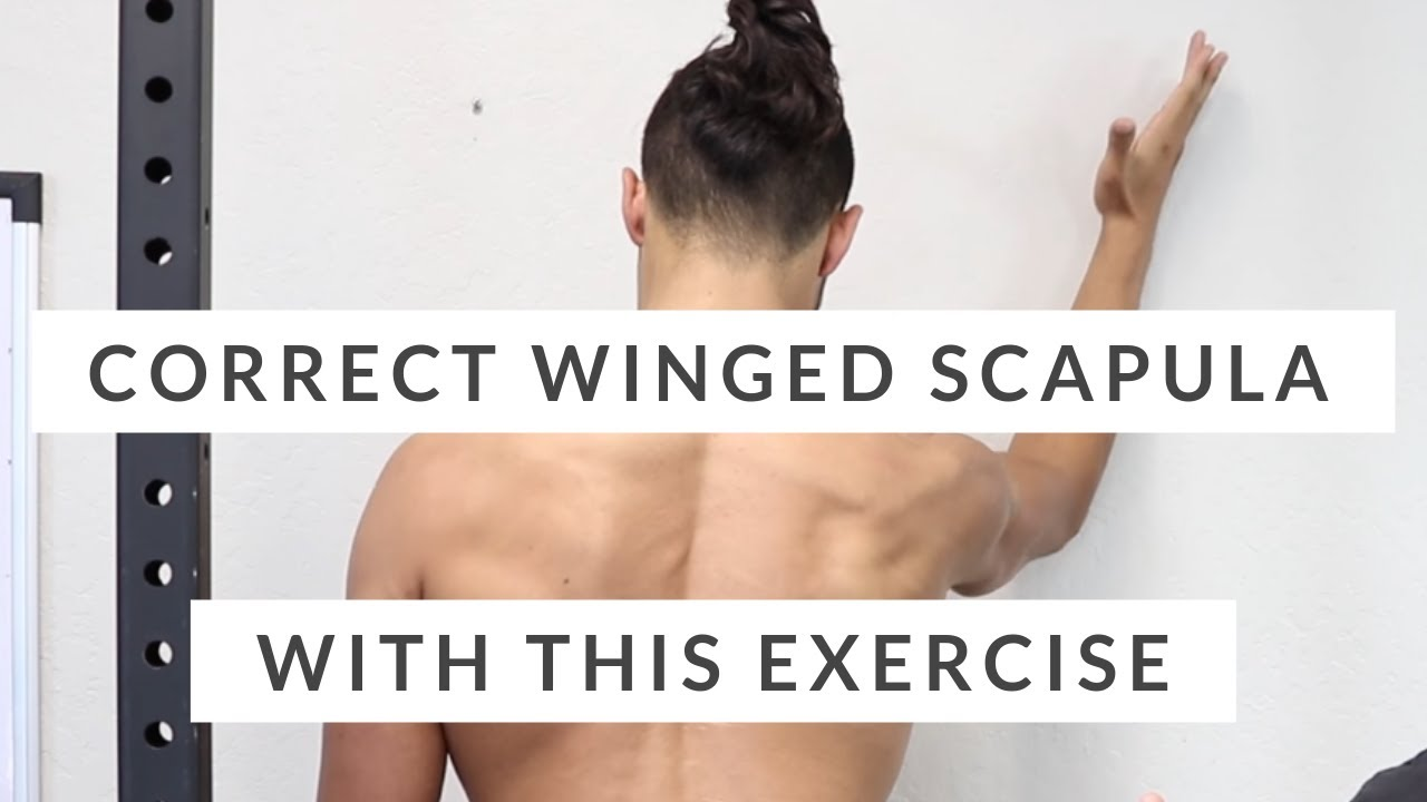 correct winged scapula don t skip this scapular rotation exercise
