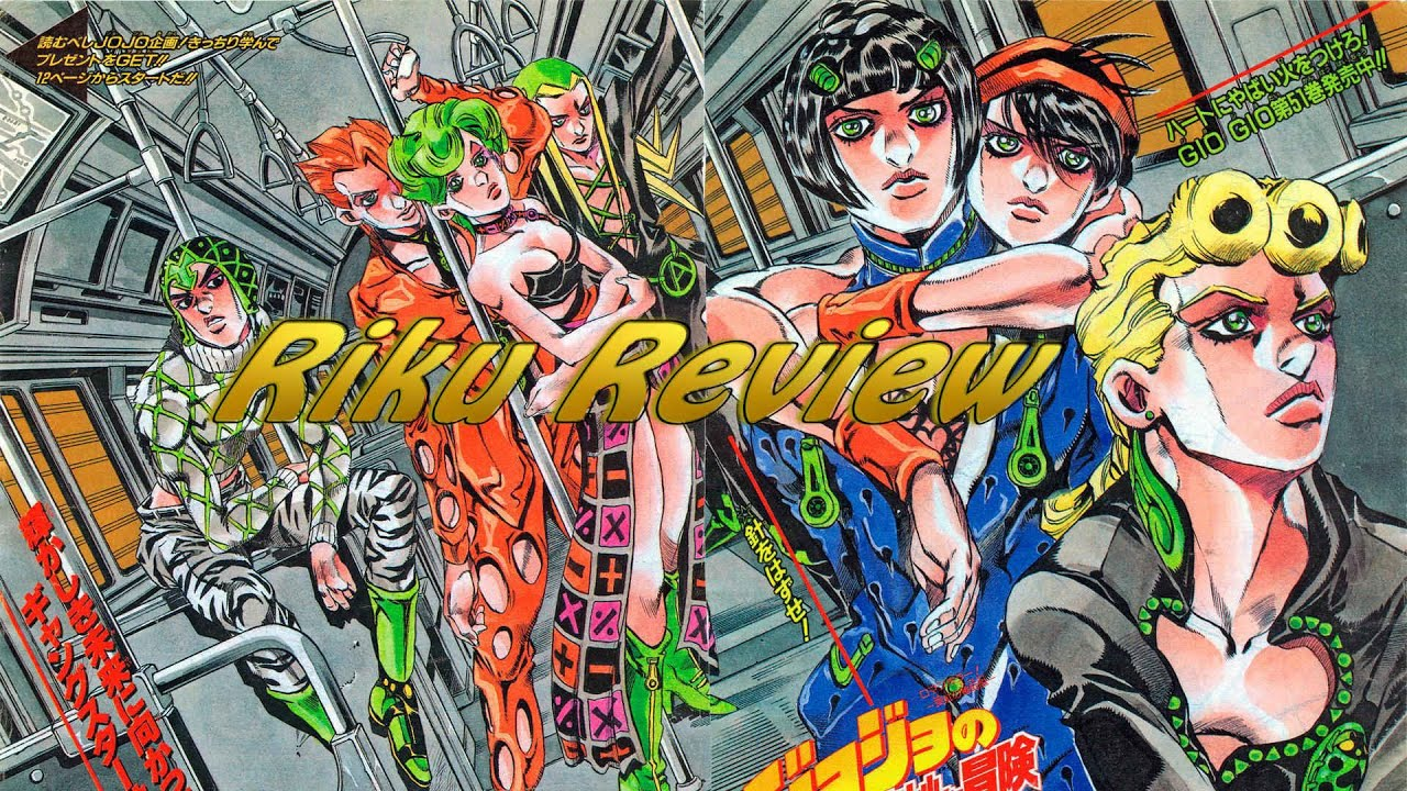 JoJo's Bizarre Adventure Part 5 Vento Aureo (Riku Review ...