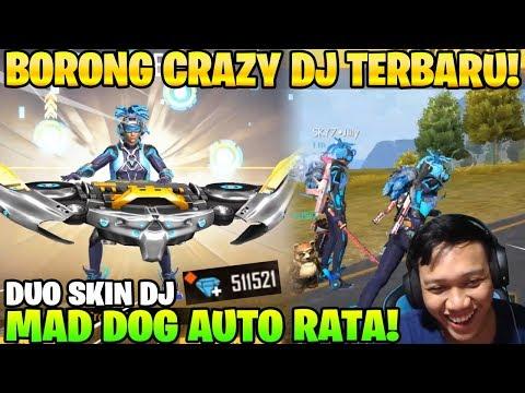 DJ GILA! BORONG DIAMOND ROYALE TERBARU! AUTO BOOYAH KILL BANYAK! - Garena Free Fire