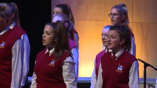 The Big Sing 2017 Session 05 Dunstanza Senior Girls   With or without you, U2 arr Scala & Kolacny Br