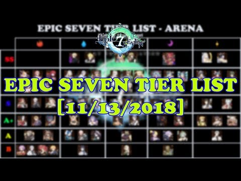 Epic Seven - GLOBAL TIER LIST (Story, Hunt/Abyss, Arena) [11/13/2018]