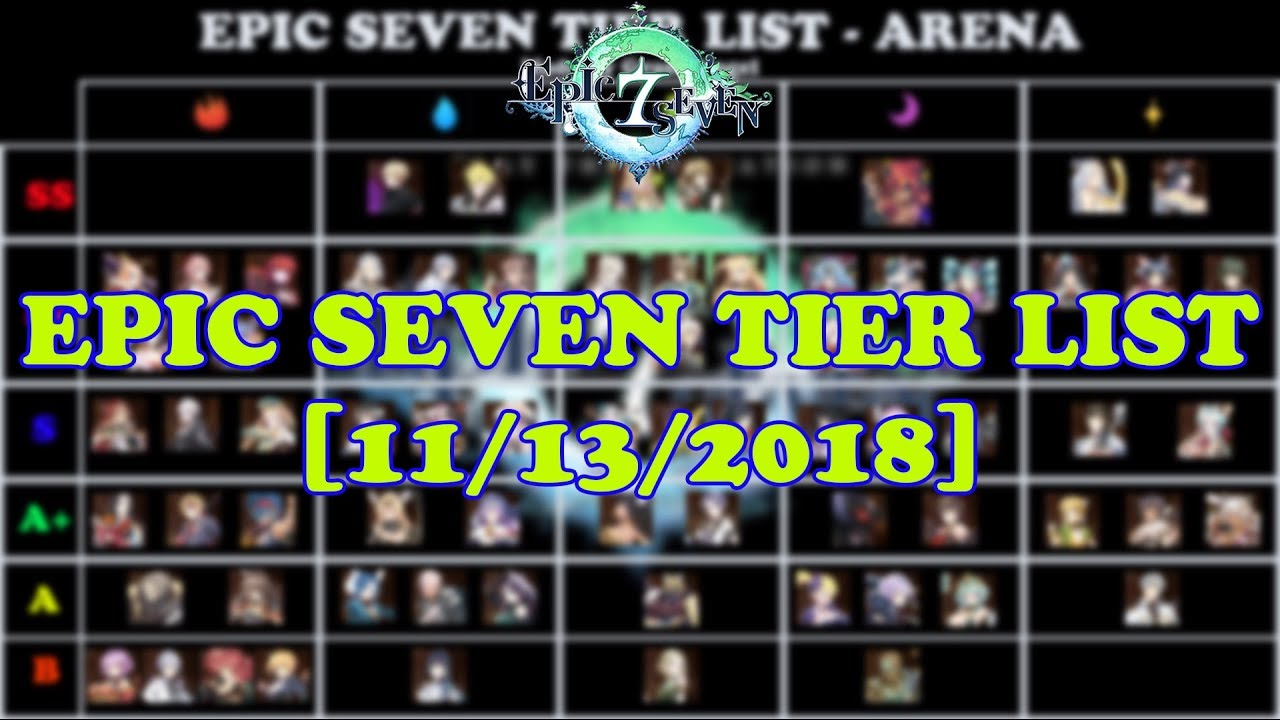 epic seven global tier list story hunt abyss arena 11 13 2018
