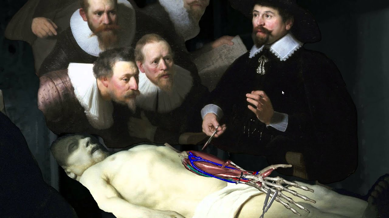 ViCTAR- Screencapture: The Anatomy Lesson of Dr Nicolaes Tulp - YouTube
