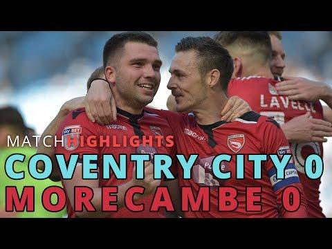 HIGHLIGHTS | Coventry City v Morecambe
